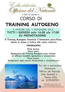Corso di Training Autogeno a Mestre Officina del Naturale @ Erboristeria Officina del Naturale Mestre | Mestre | Italy