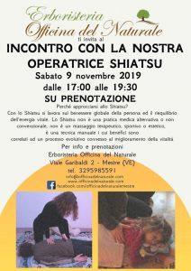 Incontro con la nostra Operatrice Shiatsu Officina del Naturale @ Erboristeria Officina del Naturale Mestre   Mestre   Italy