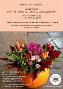 Work shop Crea il tuo centro tavola Zucca Fiorita @ Erboristeria Officina del Naturale Mestre | Mestre | Italy