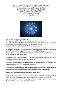 Seminario Mestre Archetipi Zodiacali e il nostro Scopo di Vita @ Erboristeria Officina del Naturale Mestre   Mestre   Italy