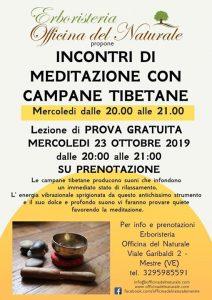 Meditazione con Campane Tibetane Mestre Officina del Naturale @ Erboristeria Officina del Naturale Mestre | Mestre | Italy