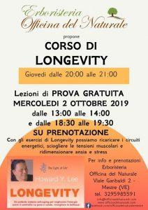 Corso di Longevity a Mestre Erboristeria Officina del Naturale @ Erboristeria Officina del Naturale Mestre | Mestre | Italy