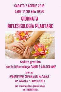 Riflessologia Plantare @ Erboristeria Officina del Naturale Mestre | Mestre | Italy