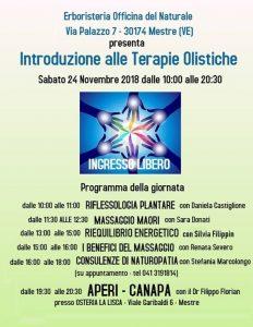 Introduzione alle Terapie Olistiche @ Erboristeria Officina del Naturale Mestre | Mestre | Italy