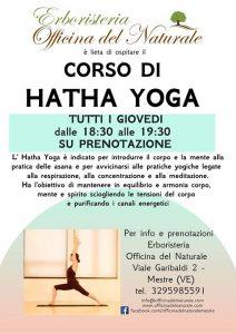 Hatha Yoga a Mestre Centro Erboristeria Officina del Naturale @ Erboristeria Officina del Naturale Mestre | Mestre | Italy