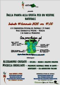 """""""Dalla pianta alla stoffa per un vestire naturale"""" @ Erboristeria Officina del Naturale Mestre   Mestre   Italy"""