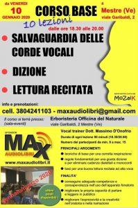 Corso di Dizione e lettura ad alta voce a Mestre centro @ Erboristeria Officina del Naturale Mestre | Mestre | Italy