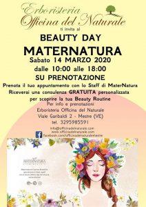 Beauty Day MaterNatura Mestre Erboristeria Officina del Naturale @ Erboristeria Officina del Naturale Mestre | Mestre | Italy