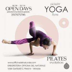 Yoga e Pilates a Mestre Open week gratuita @ Erboristeria Officina del Naturale Mestre | Mestre | Italy