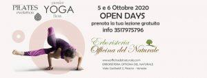 Prova gratuita Yoga e Pilates a Mestre Officina del Naturale @ Erboristeria Officina del Naturale Mestre | Mestre | Italy