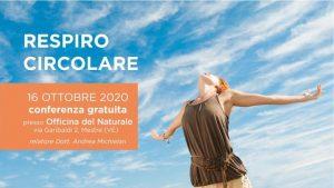 Respiro Circolare Conferenza Gratuita @ Erboristeria Officina del Naturale Mestre | Mestre | Italy