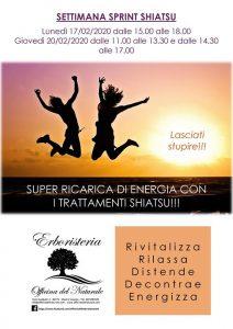 Settimana Sprint Shiatsu a Mestre Officina del Naturale @ Erboristeria Officina del Naturale Mestre | Mestre | Italy