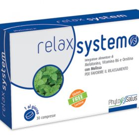 relax system con melatonina